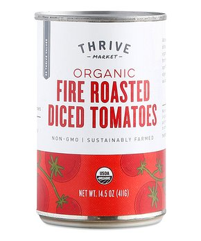 Thrive Market | 14.5-Oz. Organic Fire Roasted Tomatoes