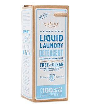 Thrive Market   50-Oz. Fragrance-Free Laundry Detergent
