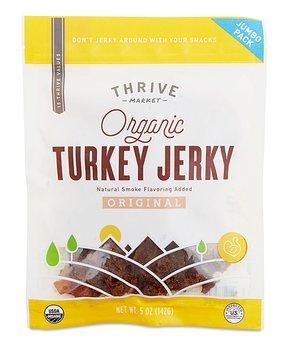 Thrive Market   5-Oz. Organic Original Turkey Jerky