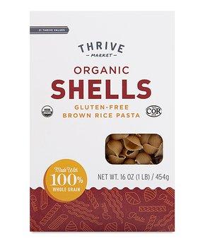 Thrive Market | 16-Oz. Organic Brown Rice Shells
