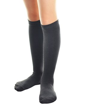 6786fd1227c46 Angelina | Black Knee-High Angelina Six-Pair Socks Set - Kids