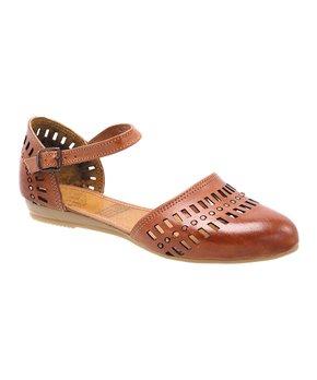 Playera | Shedron Cutout Leather Sandal - Women