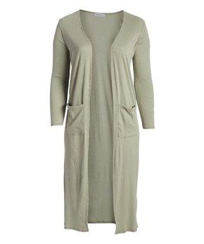 Fashionomics | Ivory Cutout Back V-Neck Tunic - Women & Plus
