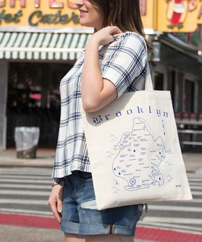 MAPTOTE | 'Brooklyn' Grocery Tote