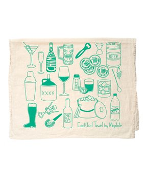MAPTOTE | Cocktail Items Tea Towel