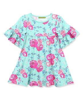 e47b7dd871218d Millie Loves Lily | Pink Love Letter Babydoll Dress - Toddler & Girls. all  gone