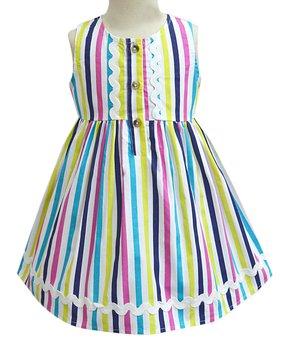 99609d006e227 A.T.U.N. | Rainbow Candy Stripe Penelope Dress - Infant, Toddler & Gi…