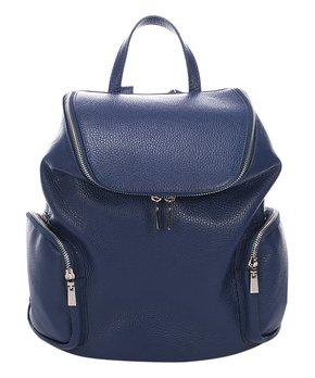 all gone. Giulia Massari   Blue Zip Leather Backpack 561db8b156