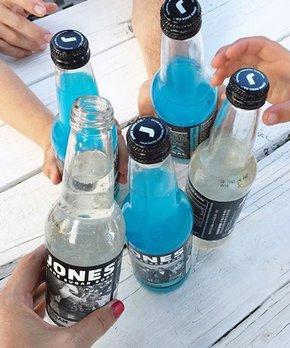 Jones Soda | Jones Lemon Lime Cane Sugar Soda - Set of Six