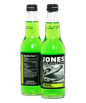 Jones Soda | Jones Green Apple Cane Sugar Soda - Set of Six