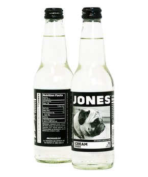 Jones Soda | Jones Cream Cane Sugar Soda - Set of Six