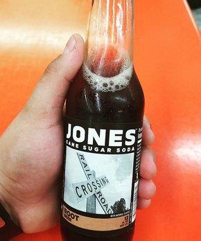 Jones Soda | Jones Root Beer Cane Sugar Soda - Set of Six