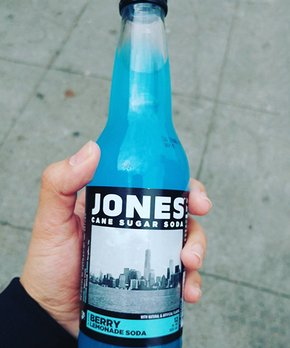 Jones Soda | Jones Berry Lemonade Cane Sugar Soda - Set of Six