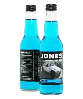 Jones Soda | Jones Blue Bubblegum Cane Sugar Soda - Set of Six