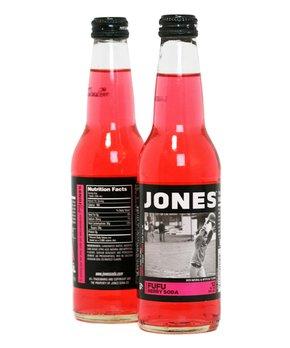 Jones Soda | Jones Fufu Berry Cane Sugar Soda - Set of Six