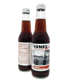 Jones Soda | Jones Zilch Sugar-Free Cola - Set of 12