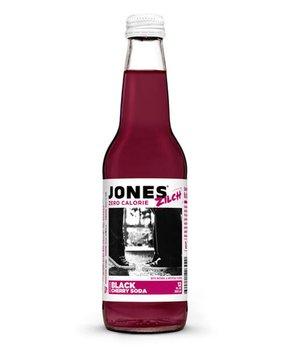 Jones Soda | Jones Zilch Sugar-Free Black Cherry Soda - Set of Six