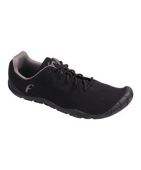 Freet   Black Charcoal Connect Walking Shoe – Adult