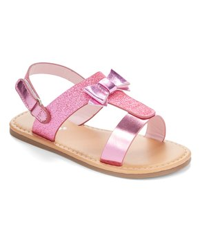 Ositos Shoes | Pink Stud Sez Gladiator Sandal - Girls