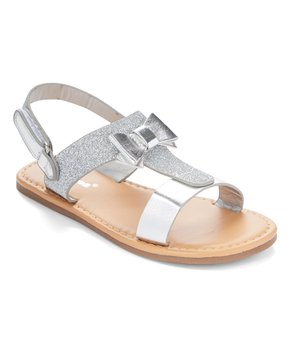 Ositos Shoes | Silver Stud Sez Gladiator Sandal - Girls