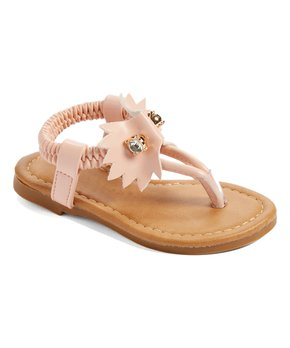Ositos Shoes | Blush Pin T-Strap Sandal - Girls