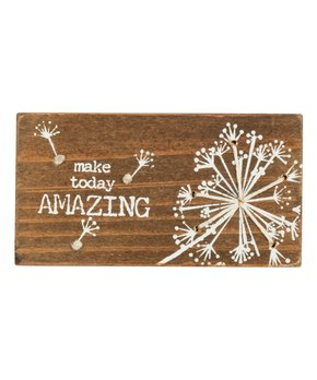 Primitives by Kathy | 'Make Today Amazing' Stitched Block Sign
