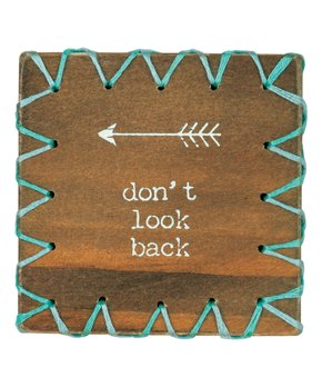 Primitives by Kathy | 'Oh, The Places You'll Go' Stitched Block Sign