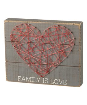 Primitives by Kathy | 'Don't Look Back' String Art Block Sign