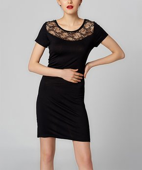 c9909b58 BRC Moda | Black Ruffle Off-Shoulder Dress - Women · all gone