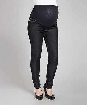 3704d080167c3 all gone. Times 2 | Dark Rinse Over-Belly Maternity Skinny Jeans
