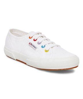 Superga | White Colorey Sneaker - Women