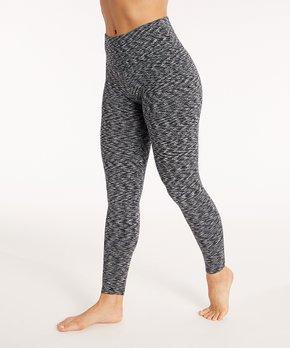 16cc9421a96d3 Bally Total Fitness | Black Space Dye High Waist Leggings - Women