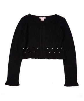 Girls Shrugs Knit Lace Embellished Shrugs Boleros Zulily