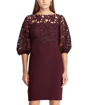 81ecb28e Lauren Ralph Lauren | Black Neoma Boatneck Dress - Women. all gone