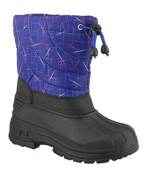 1d0ff67180b1 Electric Blue Abstract Duck Boot - Kids