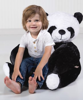 c8f0fcdf6 Trend Lab | Panda Plush Chair