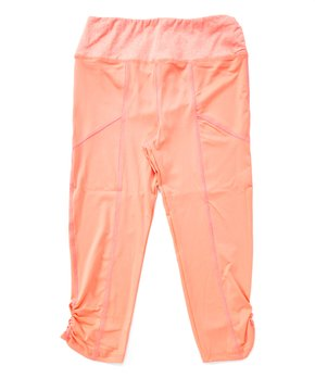 34df1d7c69ed9 Poof Apparel | Neon Orange & Neon Pink Leggings - Girls