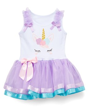 6969e2f93c754 Nanya | Pink & Purple Sleeveless Tutu Dress - Infant, Toddler & Girls