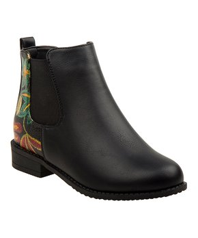 471b9e790a only 1 left. Nanette Lepore Girls | Black Floral Ankle Boot ...