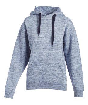 e8c7d3755 Exist | Melange Navy Front-Pocket Hoodie - Women