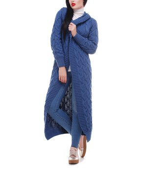72e371ff5b9 ... Blue Color Block Pocket Open Cardigan - Wo… all gone. 1FORYOU ...