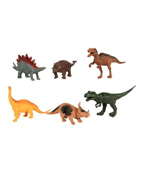 6cd62f1a0 Six-Piece Dinosaur Figure Set