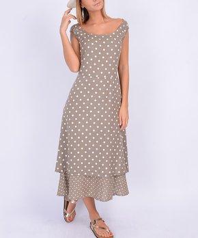 fd866e23b37 ... Linen Maxi Dress - Women. all gone