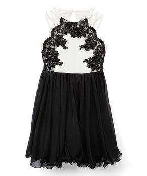 f26990d0666 ... Lace Sash Sleeveless Dress - Girls. all gone. Speechless ...