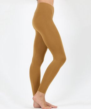 b8f3c3ca8c9e4f Zenana | Coffee Solid Leggings - Women