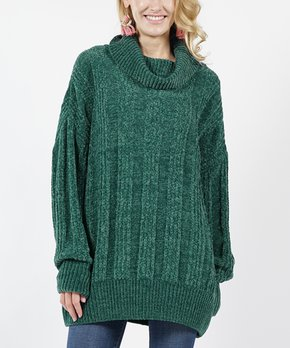 00372a83b92 Burgundy Oversize Cable-Knit Velvet Yarn Crewneck Sweater - Women. all gone