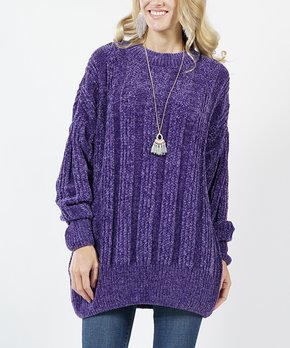 ff383174f We ♥ Oversize Velvet Yarn Sweaters