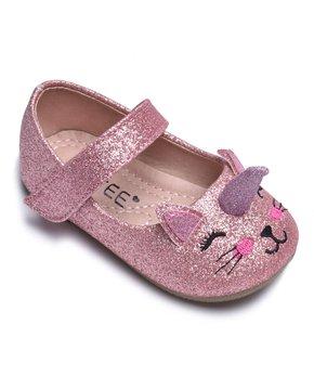 07d58c19f7ea CUTEE | Pink Unicorn Cat Mary Jane - Girls