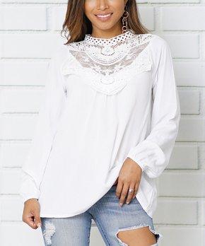 2ea12ce74eb37 lace tops women white