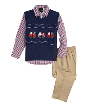 3dc098b63 Boys  Sweater Vests - Dressy to Casual Vests On Sale at zulily